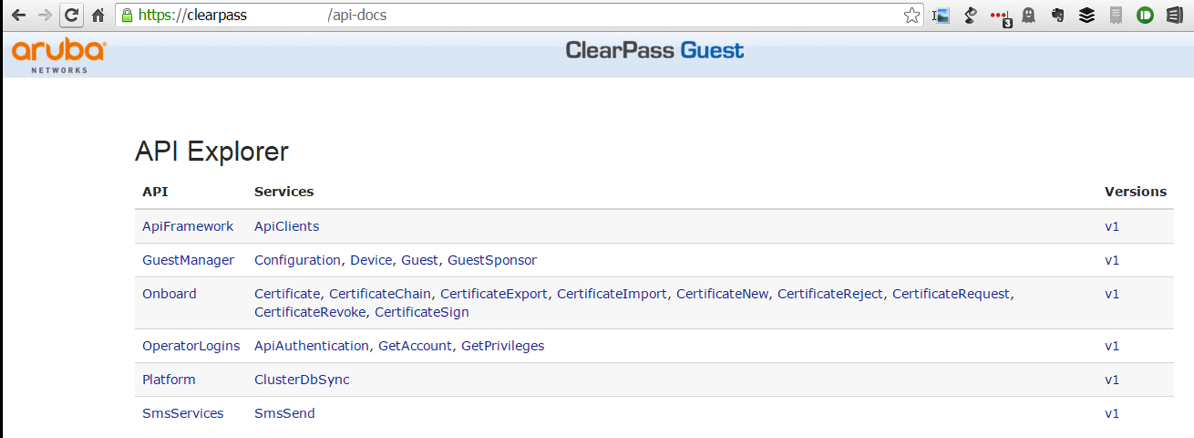 Some Things I Didn't Know About Aruba ClearPass – Swacknet2
